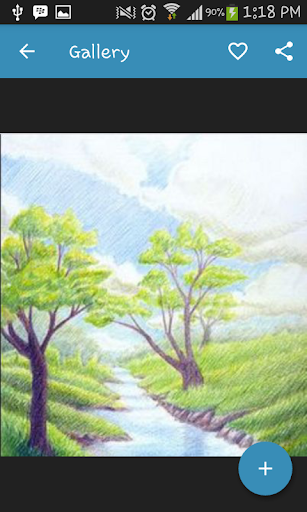 Drawing Scenery Landscapes screenshots 5