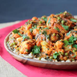Paleo Chicken Curry with Cauliflower & Sweet Potatoes |Gluten Free One Pot Meals.