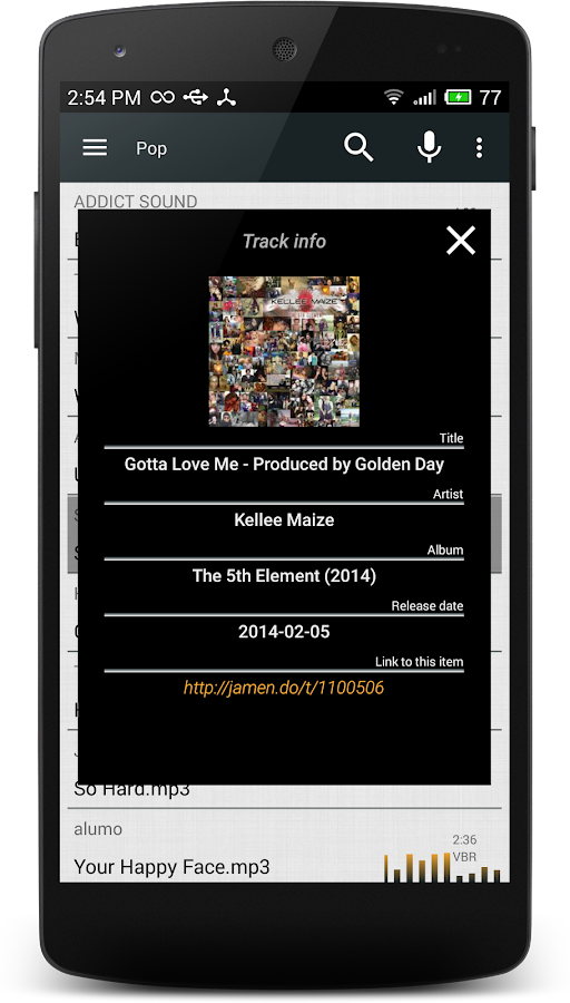 Download Mp3 Music- screenshot