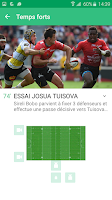 Screenshot of CANAL Rugby App