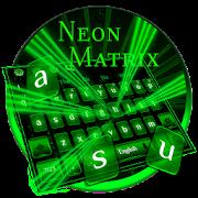 Neon Matrix Keyboard