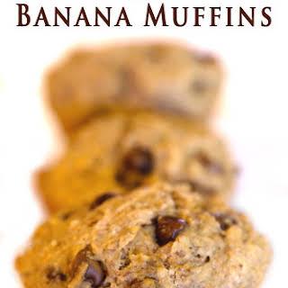 Chocolate Chip Banana Muffins.