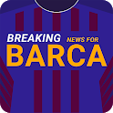 Breaking News for Barcelona icon
