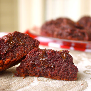 Red Velvet Drop Cookies
