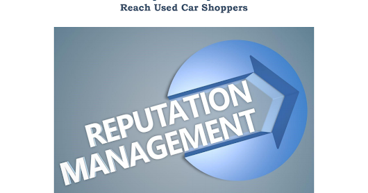 How to Use Online Reputation Optimization Services to Reach Used Car Shoppers - Google Drive