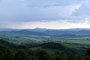 Photo: Widok na Bramę Lubawską, Szczepanowski Grzbiet i Góry Krucze