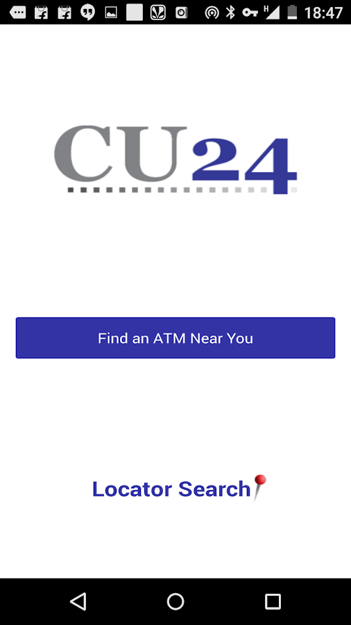 CU24 ATM Locator- screenshot