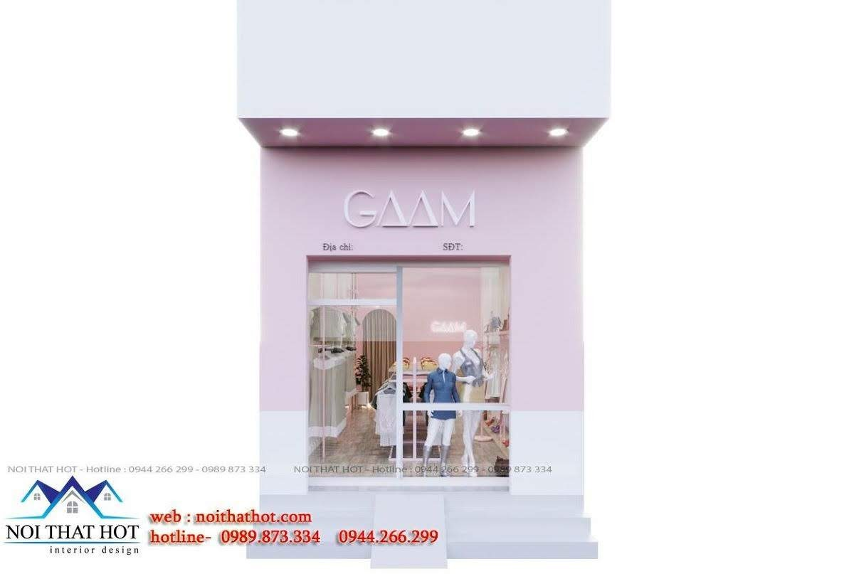 thiết kế shop thời trang gaam 1