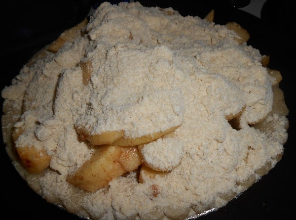 FOR THE TOPPING:  In a medium bowl, combine cold butter, brown sugar, and...