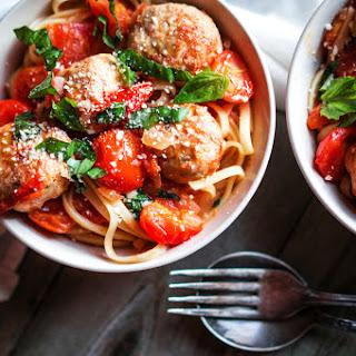 Pasta with Turkey Meatballs