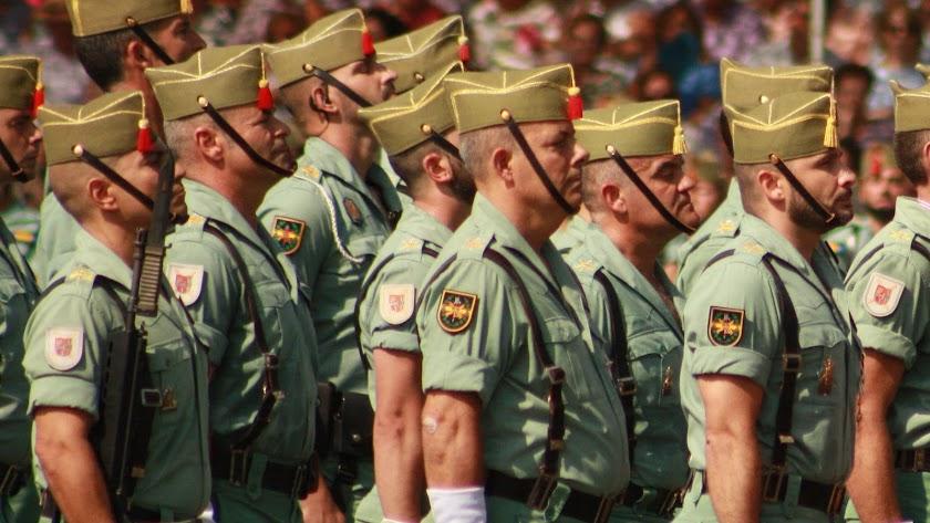 Formación de la Legión en Viator