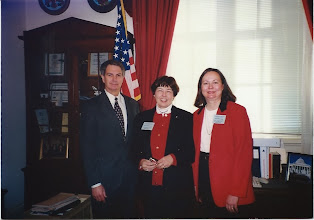 Photo: US Rep. Walter Jones, Dianne McDowell, Karen McCardy