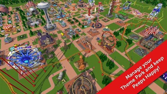 RollerCoaster Tycoon Touch- screenshot thumbnail