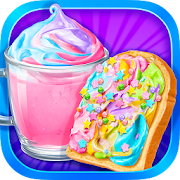 Unicorn Treats - Sweet Hot Chocolate & Toast Maker
