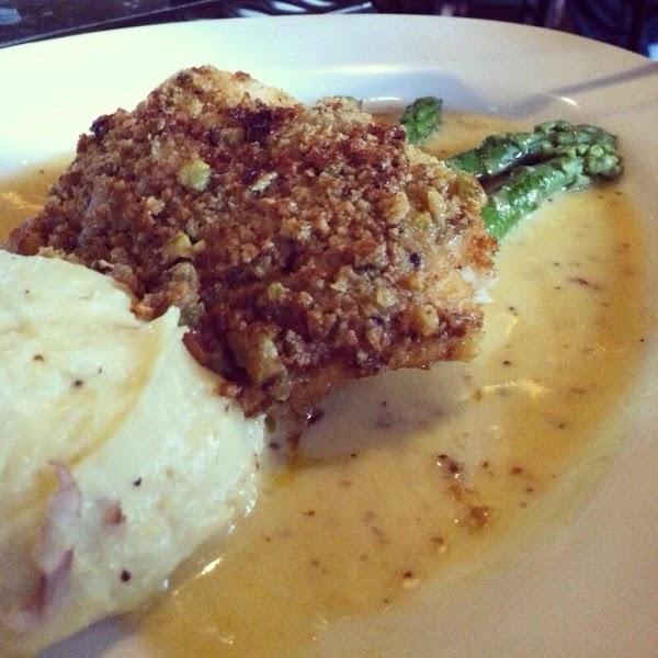 Pistachio Encrusted Grouper With Marsala Recipe