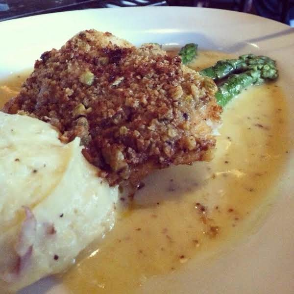 Pistachio Encrusted Grouper With Marsala Recipe