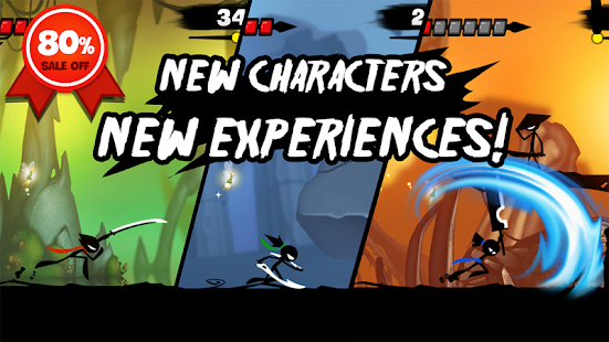 Stickman Revenge 3: League of Heroes Screenshot