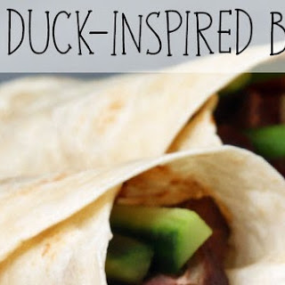Peking Duck-Inspired Burritos #Recipe