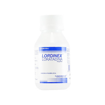 LORDINEX 5MG/5M JARABE   FRASCO X 90ML LORATADINA NOVAMED
