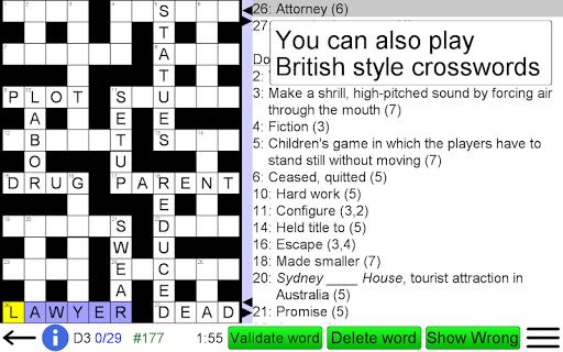 Arrow Crossword screenshots 18