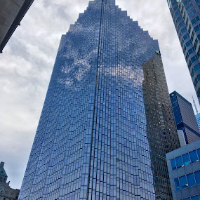 Mirrored Building by Jillynn Markle - Instagram & Mobile iPhone ( buildings, architecture, iphone, reflecting )