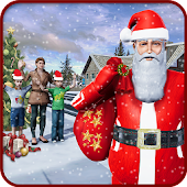 Santa Gift Delivery Simulator : Fun Christmas Game