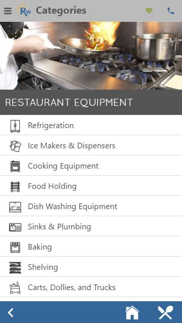 Restaurant Equipment World- screenshot