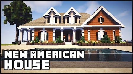 Minecraft Haus Ideen amerikanische minecraft haus ideen apk apkname com