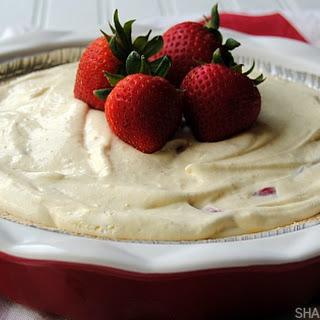 Strawberry Shortcake Pie.
