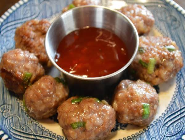 Chinese pork meatballs recipe just a pinch recipes chinese pork meatballs recipe forumfinder Gallery
