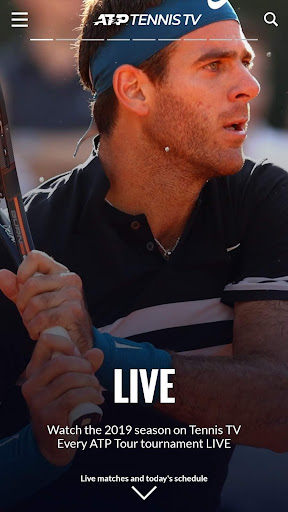 Tennis TV - Live ATP Streaming 2.1.5 screenshots 1