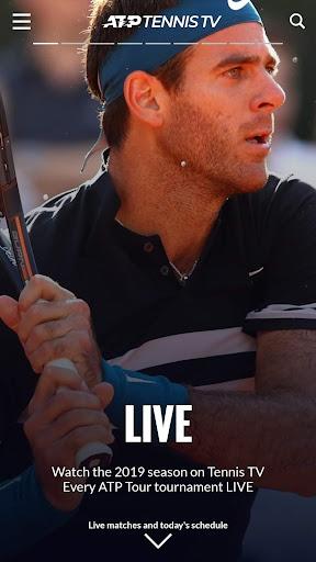 Tennis TV - Live ATP Streaming 2.3.4 screenshots 1
