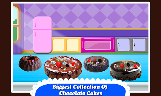 Black Forest Chocolate Cake Maker! Cooking Game - náhled