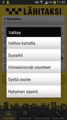 Lähitaksi - screenshot