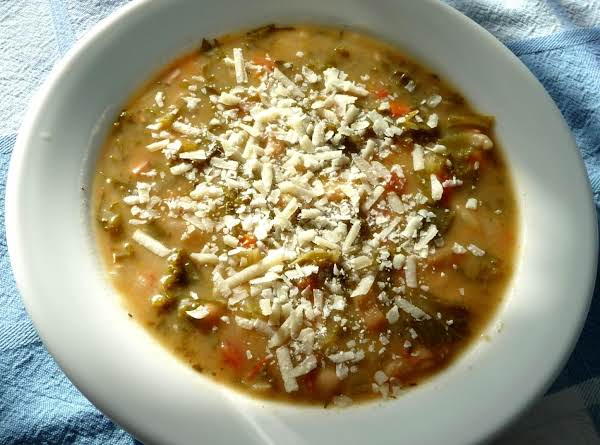 Kale And White Bean Soup With Canadian Bacon Recipe