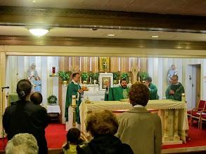 Photo: Mass at Sacred Heart Italian Church