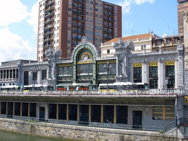 Estación de Bilbao.