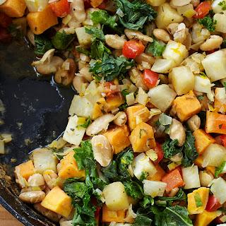 Vegetable White Bean Hash.