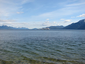 Photo: The BC Ferry heading north toward Grenville Channel.