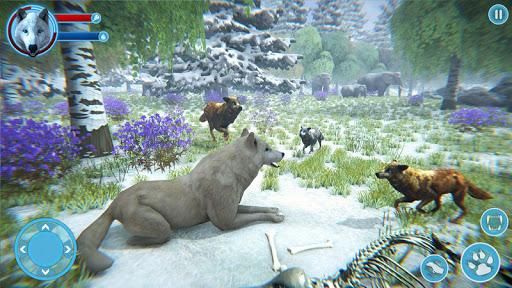 Arctic Wolf Family Simulator: Wildlife Games 5 screenshots 2