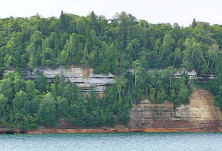 Photo: Pictured Rocks National Lakeshore is a U.S. National Lakeshore on the shore of Lake Superior in the Upper Peninsula of Michigan.