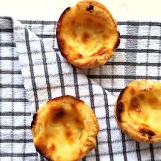 Portuguese Custard Tarts.