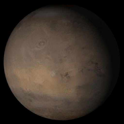Mars at Ls 341°: Tharsis