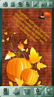 Invites For Thanksgiving Day - náhled
