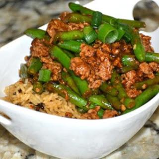 Black Bean, Green Bean and Pork Stir-Fry Recipe