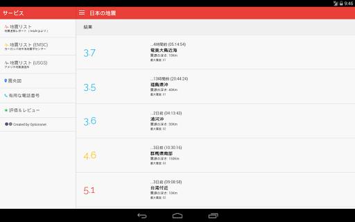 Earthquakes in Japan 2.1 PC u7528 8
