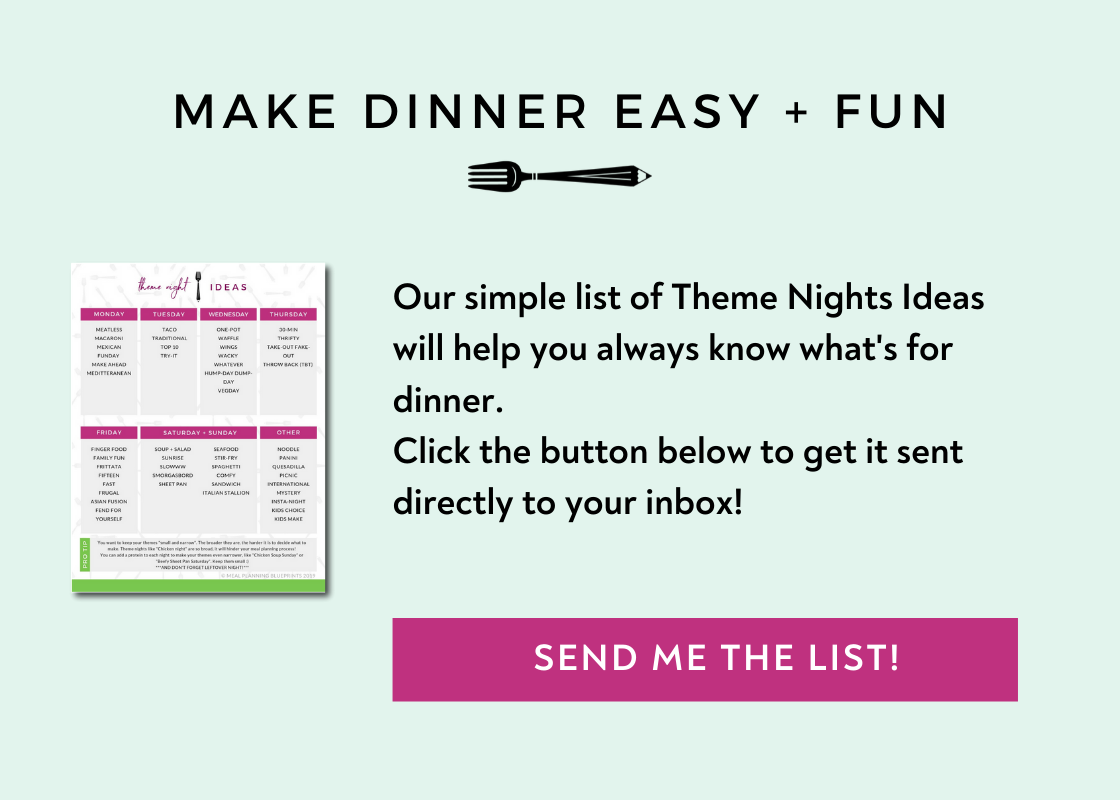 Free Theme Nights Ideas list