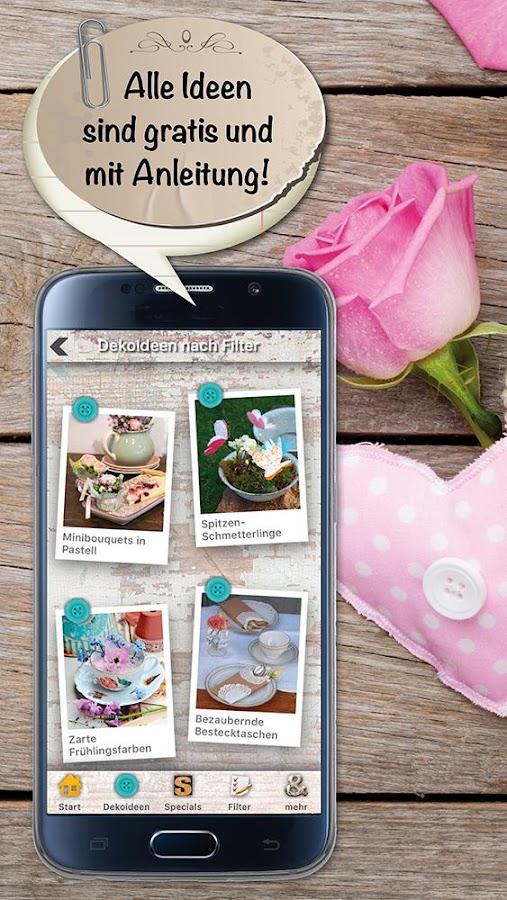 dekoideen deko trends diy android apps on google play. Black Bedroom Furniture Sets. Home Design Ideas