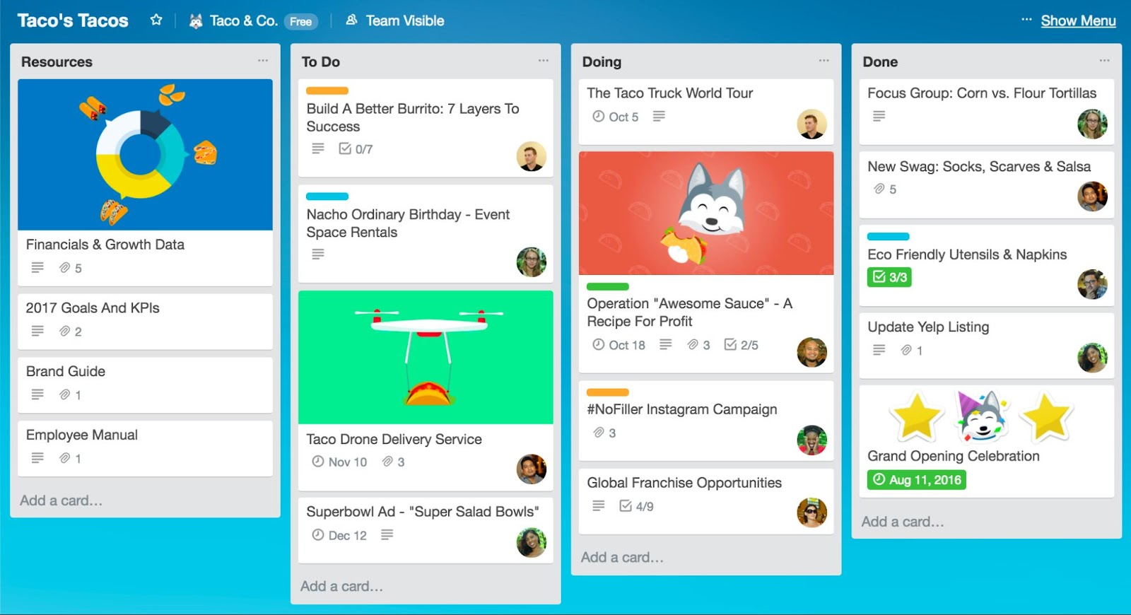 Best Marketing Tools 2020 - Trello