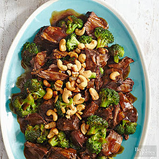 Asian Broccoli and Beef.